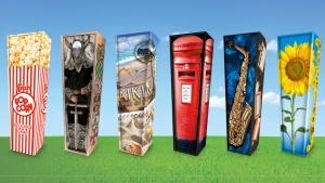 Creative coffins,
